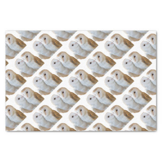 two owls friends tissue paper