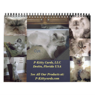 Two Page Custom Calendar, Medium Size Calendar