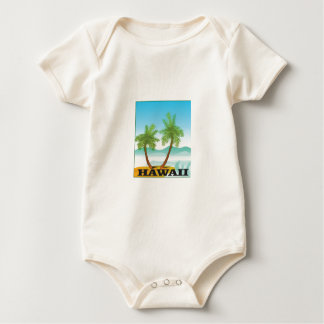 two palms of hawaii baby bodysuit