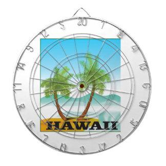 two palms of hawaii dartboard