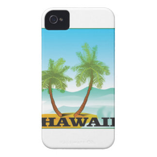 two palms of hawaii iPhone 4 Case-Mate case