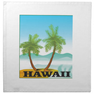 two palms of hawaii napkin