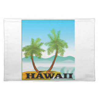 two palms of hawaii placemat