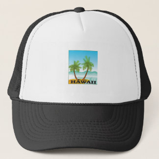 two palms of hawaii trucker hat