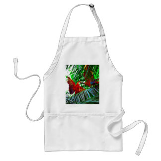 Two Parrot Birds Playing In The Tropics Standard Apron