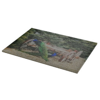 Two Pea or Not Two Pea Wildlife Cutting Board