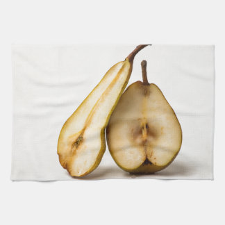 Two pear halves - My Sweet And Perfect Half Kitchen Towels