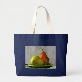 TWO PEARS LARGE TOTE BAG