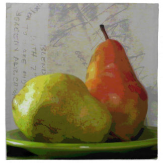 TWO PEARS NAPKIN
