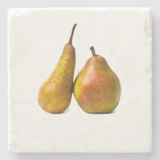 Two pears stone coaster