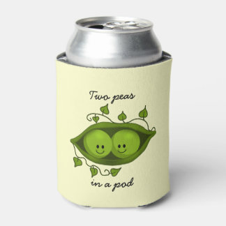 Two Peas In a Pod Can Cooler