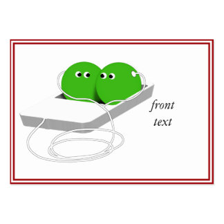 Two Peas in a Pod Large Business Card