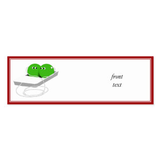 Two Peas in a Pod Mini Business Card