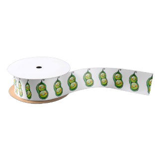 Two peas in a pod satin ribbon