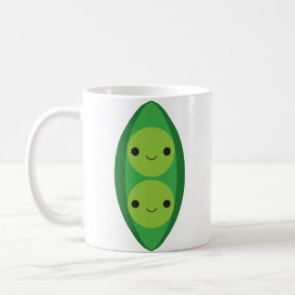 Two Peas in a Pod - Vertical Coffee Mug