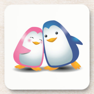 Two Penguins Coaster