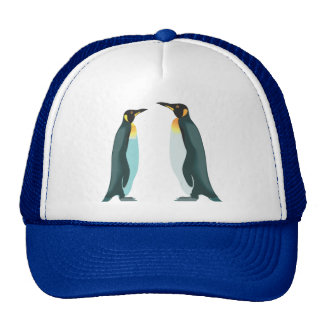 Two Penguins Trucker Hat