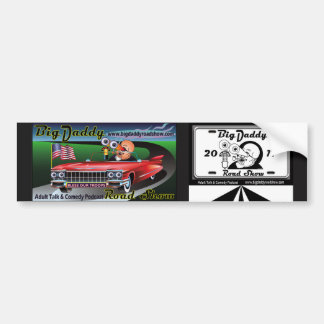 Two pieces of OMIES art for ONE Bumper Sticker! Bumper Sticker