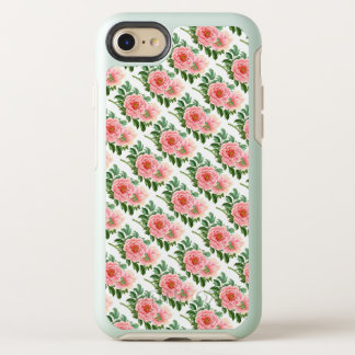 Two Pink Peonies OtterBox Symmetry iPhone 8/7 Case