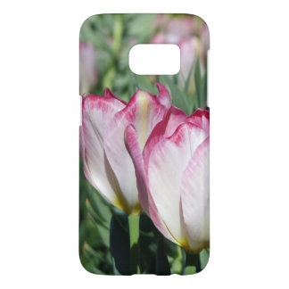 Two Pink Tulips Samsung Galaxy S7 Case