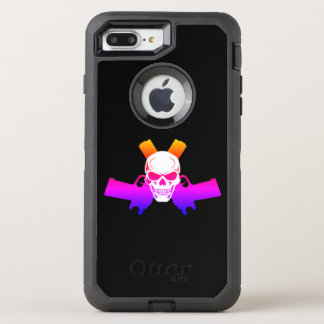 Two Pistols & Skull, Filtered Color Otterbox Case