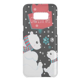 Two Polar Bears Merry Christmas Uncommon Samsung Galaxy S8 Plus Case