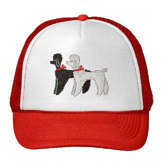 Two Poodles Trucker Hat