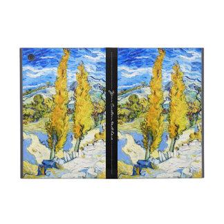 Two Poplars on a Hill Vincent van Gogh Covers For iPad Mini