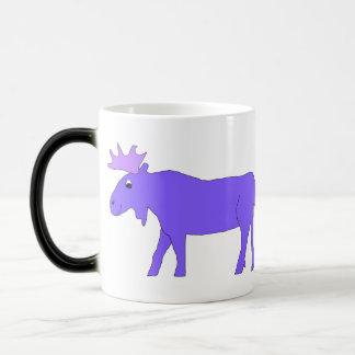 Two Purple Moose mug