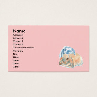 Two Rabbits Business Cards