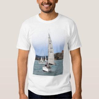 Two racing yachts tshirt