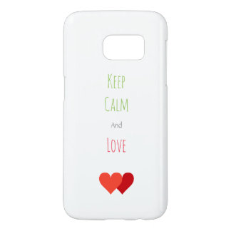 Two Red Hearts Samsung Galaxy S7 Case