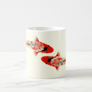 Two Red Koi Coffee Mug
