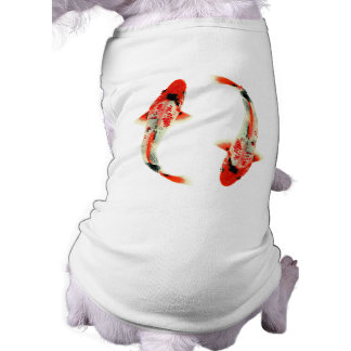 Two Red Koi Fish Shirt
