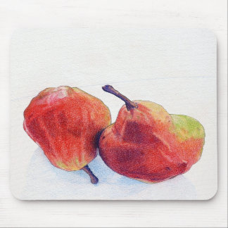 Two Red Pears Mousepad
