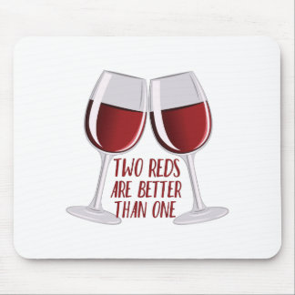 Two Reds Mouse Pad
