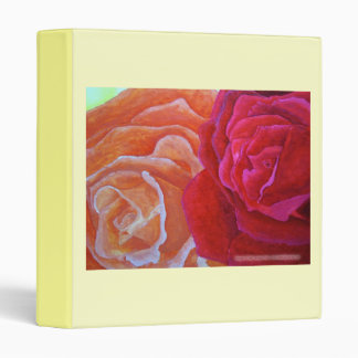 Two Roses Avery Binder