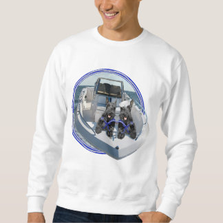 Two Scotties out on the Boat Sweatshirt