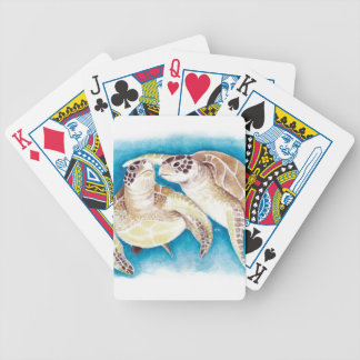 Two Sea Turtles Bicycle Playing Cards