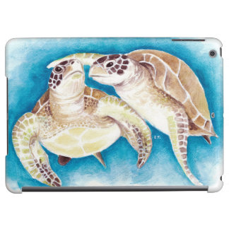 Two Sea Turtles iPad Air Cover