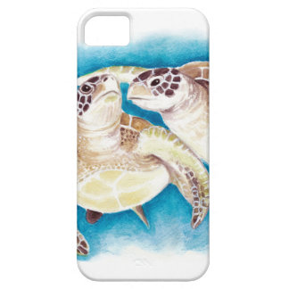 Two Sea Turtles iPhone 5 Cover