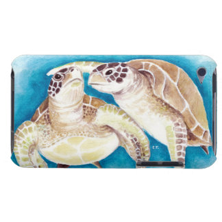 Two Sea Turtles iPod Touch Case-Mate Case