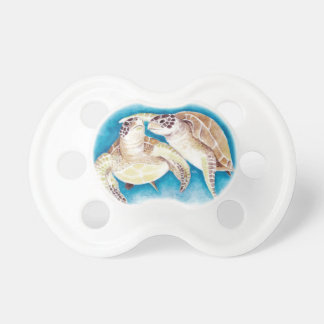 Two Sea Turtles Pacifier