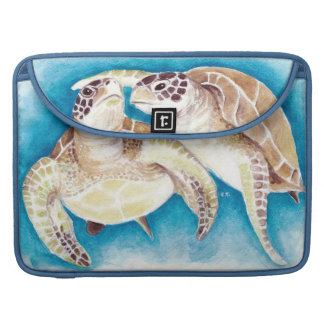 Two Sea Turtles Sleeve For MacBook Pro