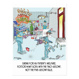 Two-Second Rule in the OR Postcard