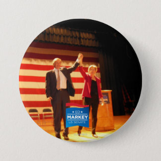 Two Senators, One State 3 Inch Round Button