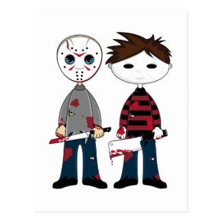 Two Serial Killers Postcard