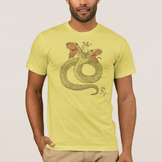 Two-serpent  and the mighty mouse T-Shirt