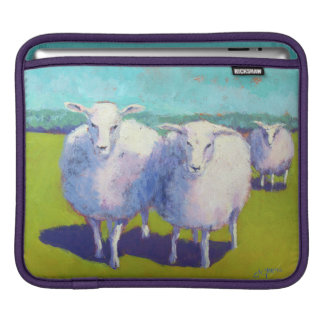 Two Sheep In Field iPad Sleeve