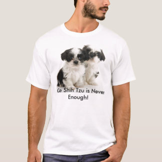 Two Shih Tzu Puppies T-Shirt
